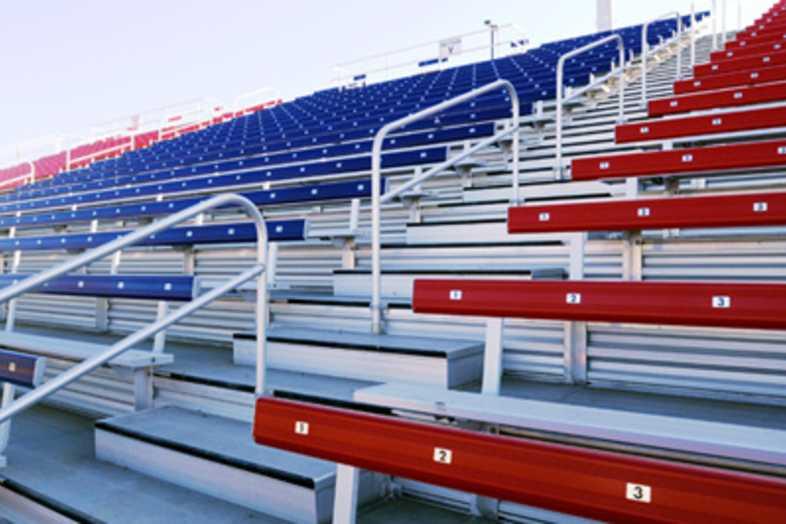 Football Bleachers - Colorado State University