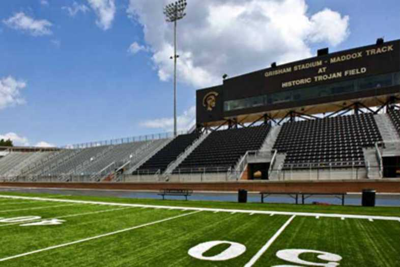 Football Bleachers - Carrollton City School