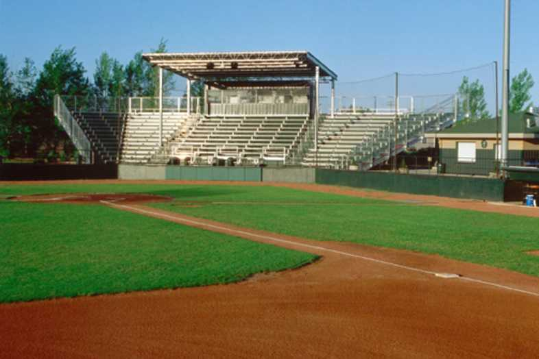 Baseball Bleachers - Bozeman Bucks Stadium