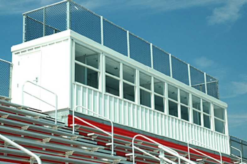 Football Bleachers - Bolingbrook High School