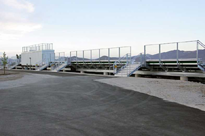 Football Bleachers - Bishop Manogue Catholic High School