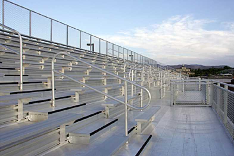 Football Bleachers - Bishop Manogue Catholic High School