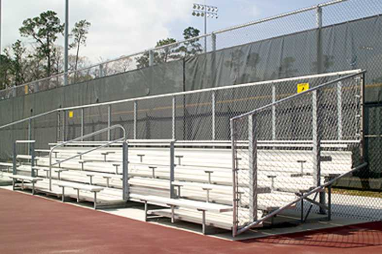 Bleachers - 5 Row Non-Elevated Bleacher