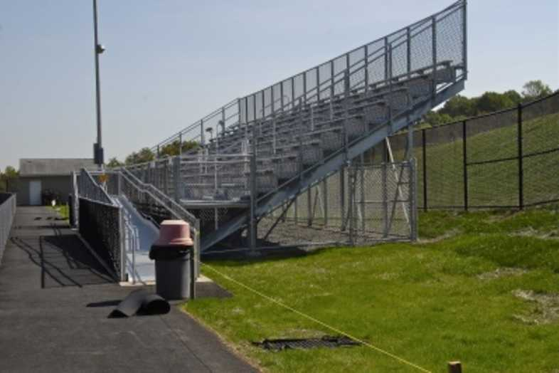 Football Bleachers - Daniel Boone Area School District