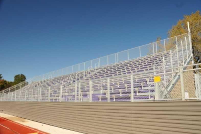 Football Bleachers - Bloomington, IL Public Schools