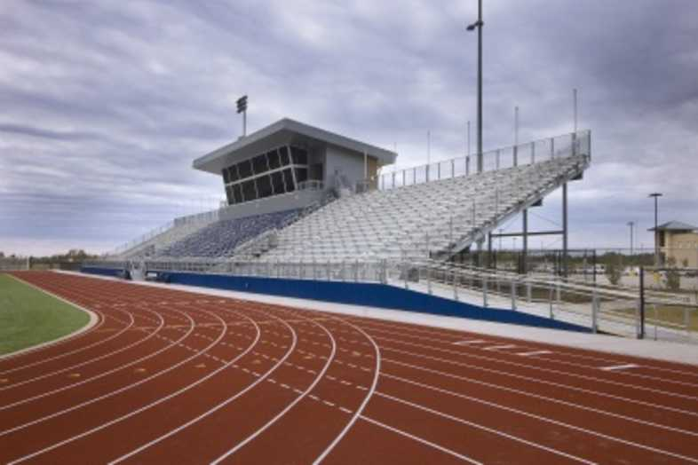 Football Bleachers - Paris ISD
