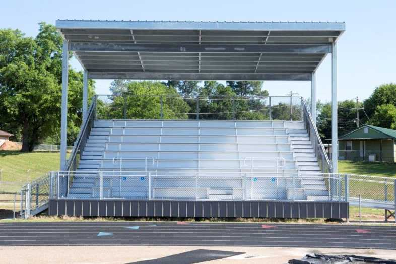 PITTSBURG INDEPENDENT SCHOOL DISTRICT - BAND BLEACHERS - 2
