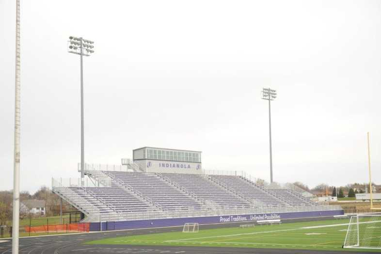 INDIANOLA COMMUNITY SCHOOL DISTRICT - Football Bleachers - 4