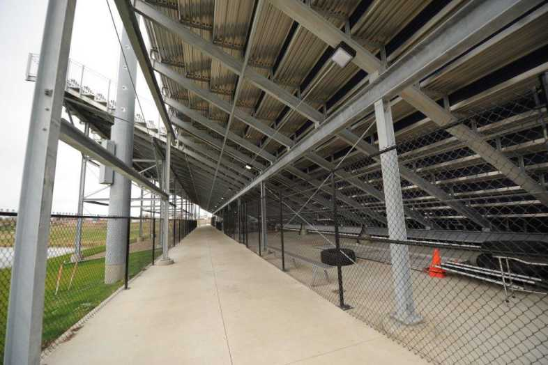 INDIANOLA COMMUNITY SCHOOL DISTRICT - Football Bleachers - 9