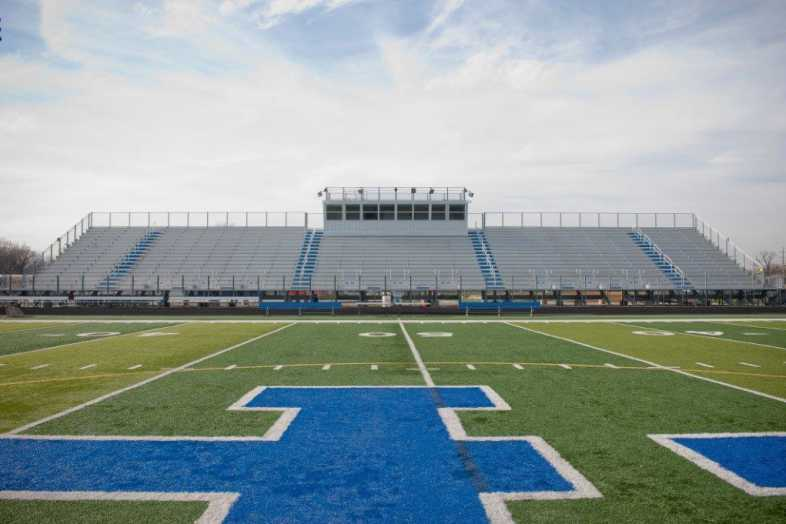 Highland Park - Football Bleachers - 1