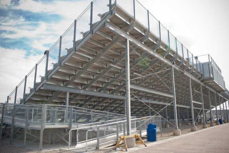 Highland Park - Football Bleachers - 2