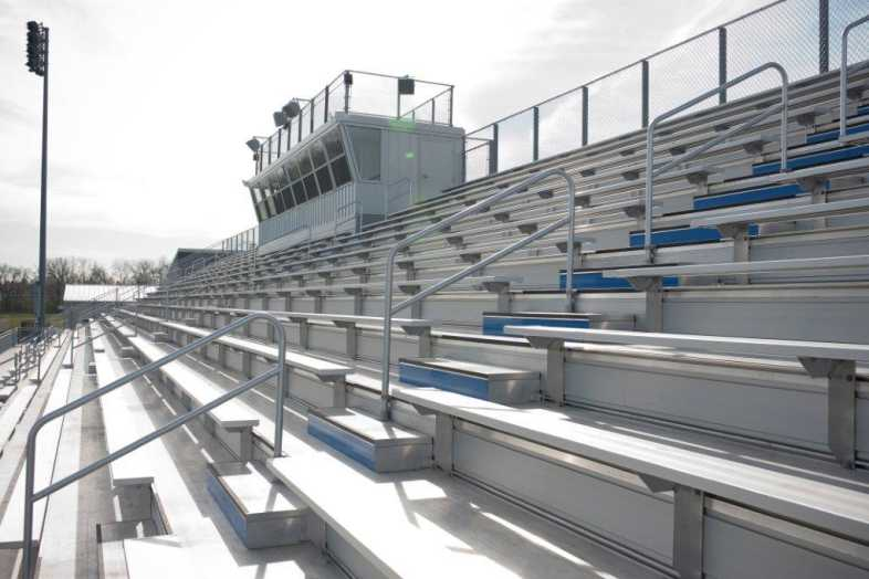 Highland Park - Football Bleachers - 3