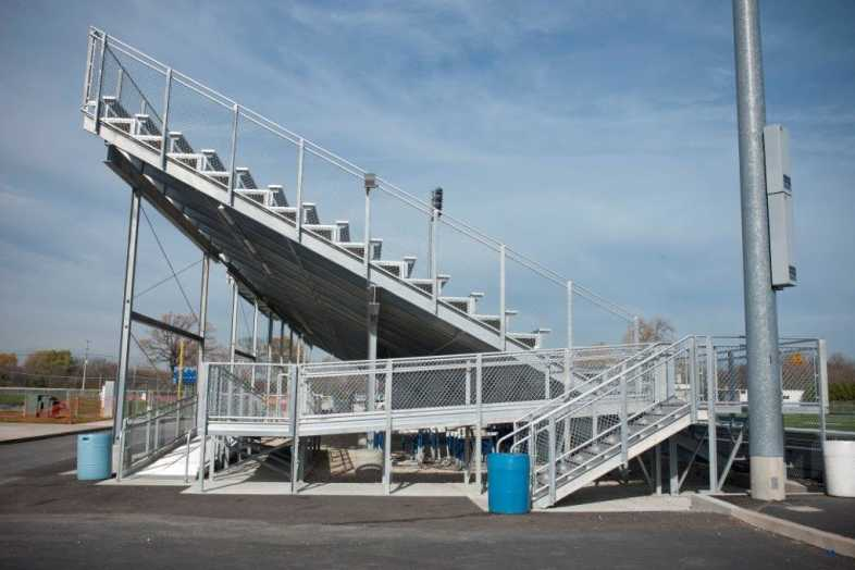 Highland Park - Football Bleachers - 7