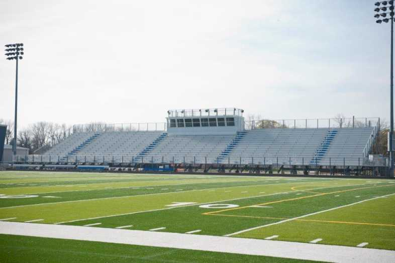 Highland Park - Football Bleachers - 8
