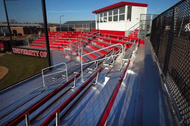 University of Wisconsin-River Falls - Softball Bleachers from Southern Bleacher - 4