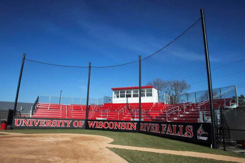 University of Wisconsin-River Falls - Softball Bleachers from Southern Bleacher - 2