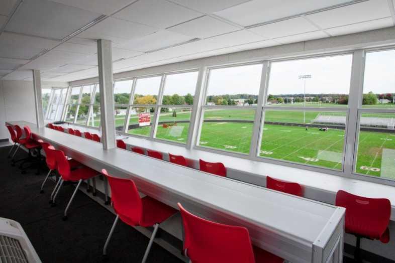 PLYMOUTH COMMUNITY SCHOOL CORPORATION - Football Field - Built by Southern Bleacher - 8
