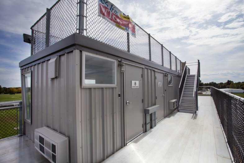 PLYMOUTH COMMUNITY SCHOOL CORPORATION - Football Field - Built by Southern Bleacher - 7