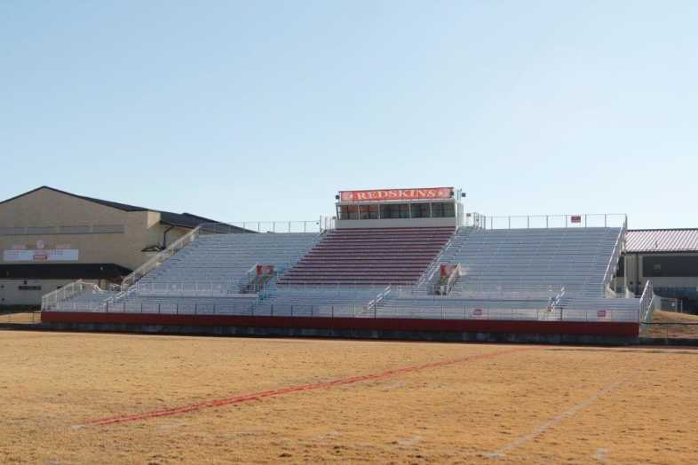 Pocahontas School District - High School Football Bleachers - 1
