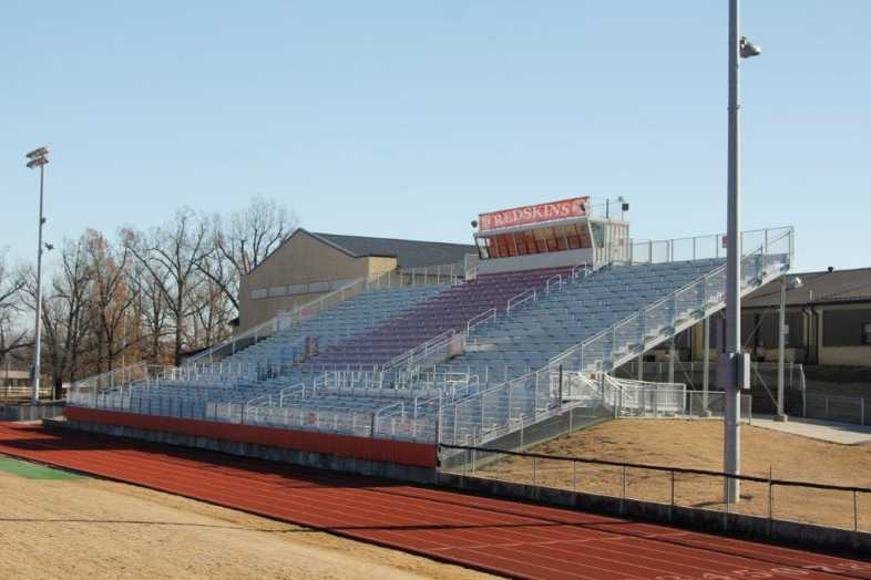 Pocahontas School District - High School Football Bleachers - 2