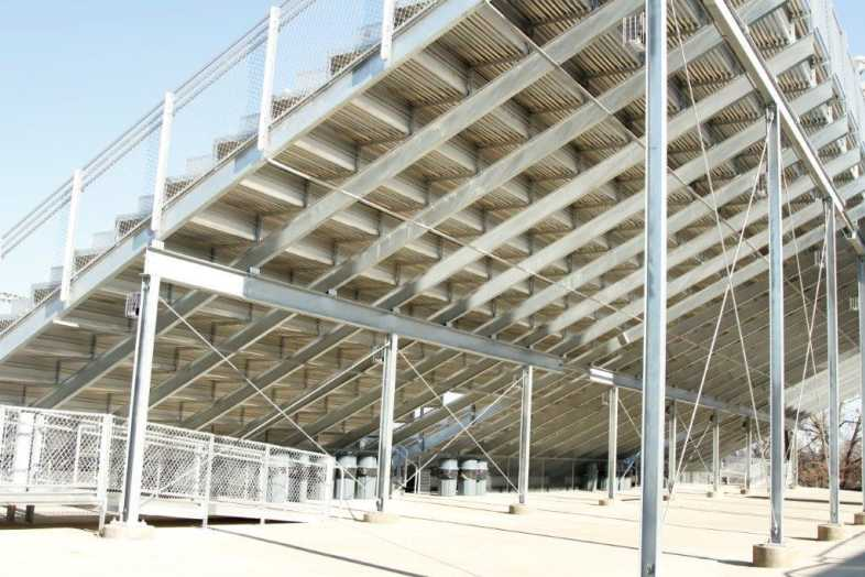 Pocahontas School District - High School Football Bleachers - 4