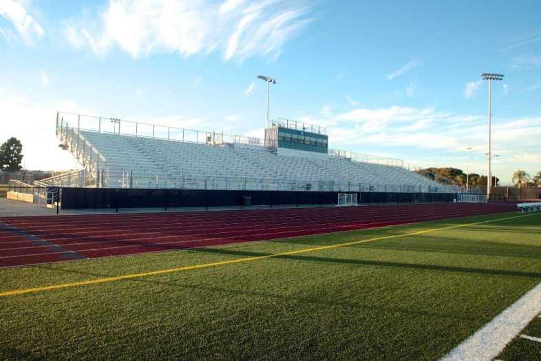 Santa Ana Unified School District - Football Bleachers - 1
