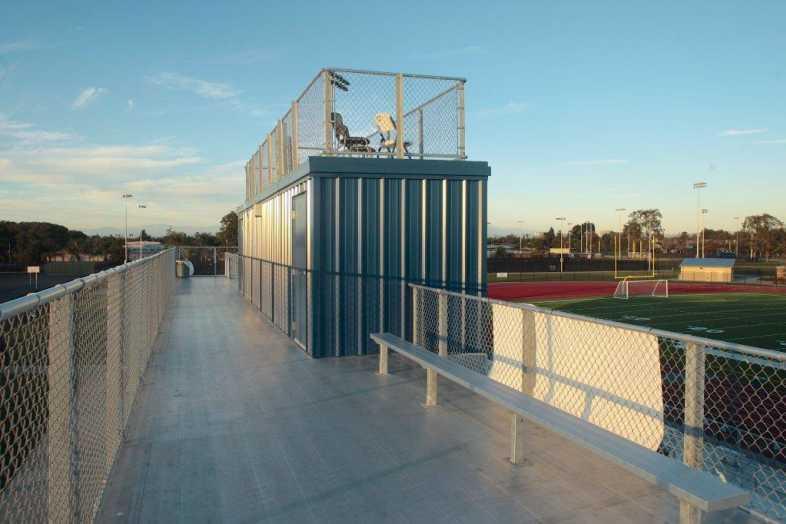 Santa Ana Unified School District - Football Bleachers - 2
