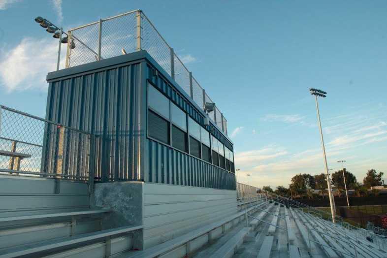 Santa Ana Unified School District - Football Bleachers - 3
