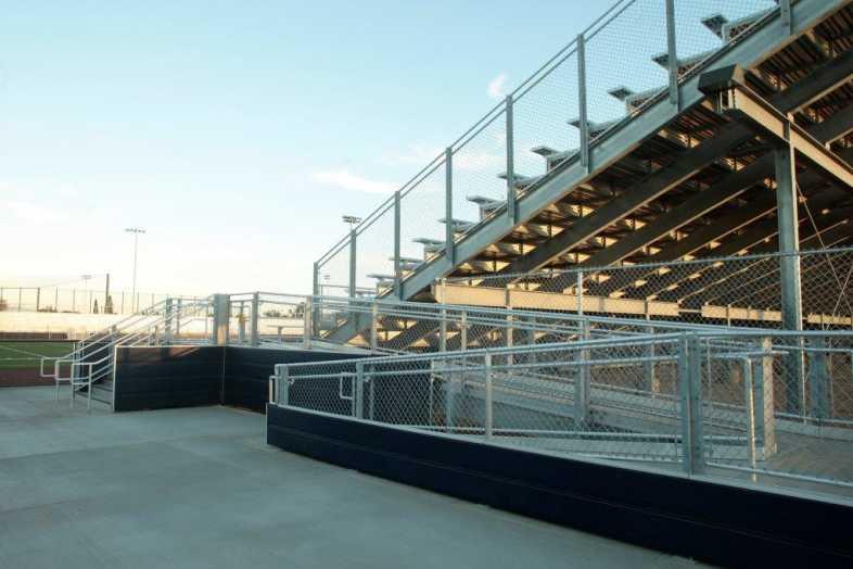 Santa Ana Unified School District - Football Bleachers - 5