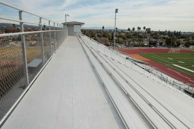 Whittier Union High School District - Football Bleachers - 3