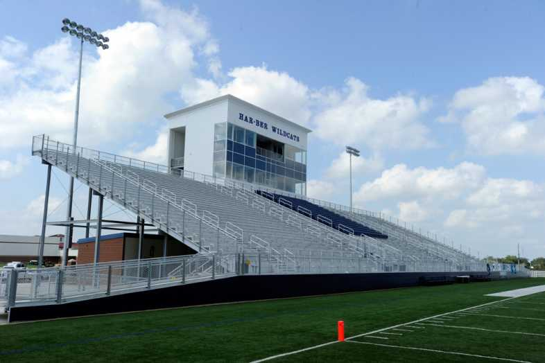 Har-Ber High School Stadium Bleachers - 1