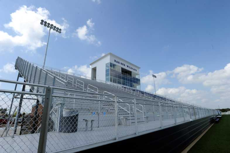 Har-Ber High School Stadium Bleachers - 2