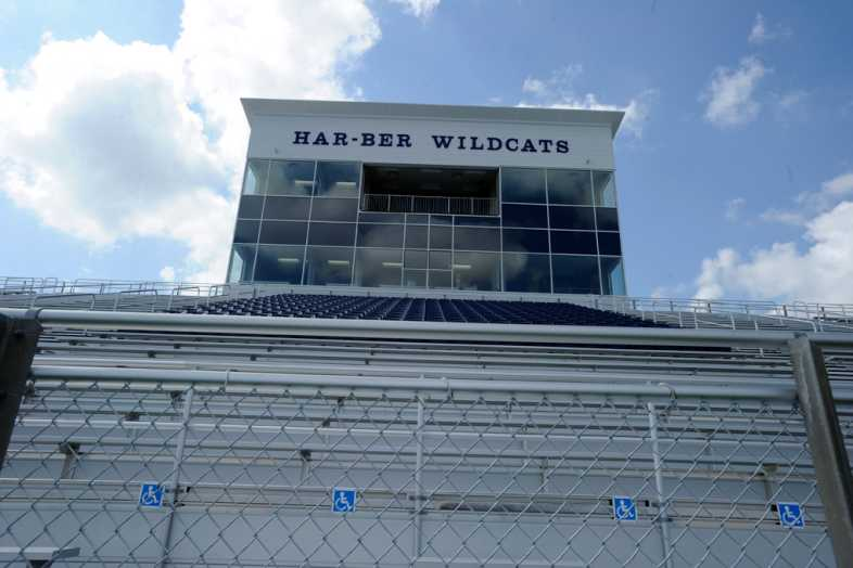 Har-Ber High School Stadium Bleachers - 3