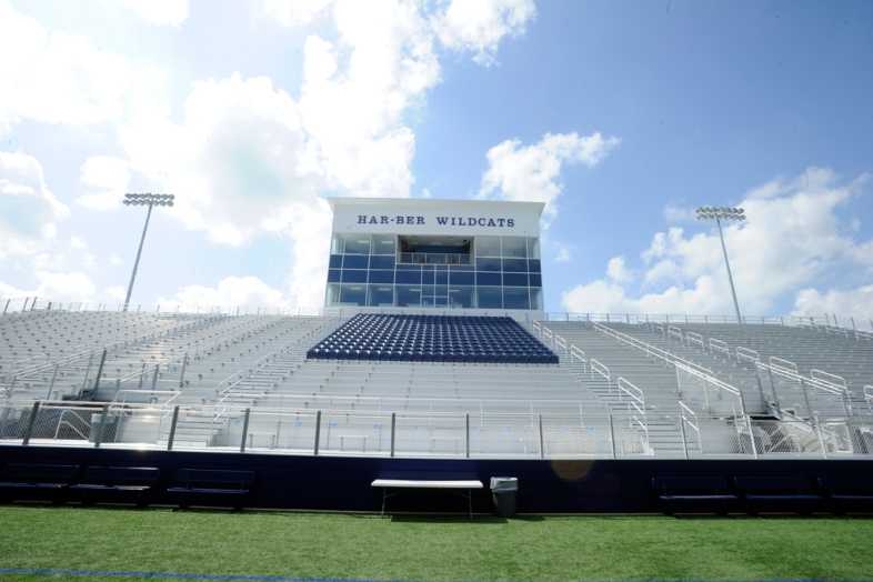 Har-Ber High School Stadium Bleachers - 4