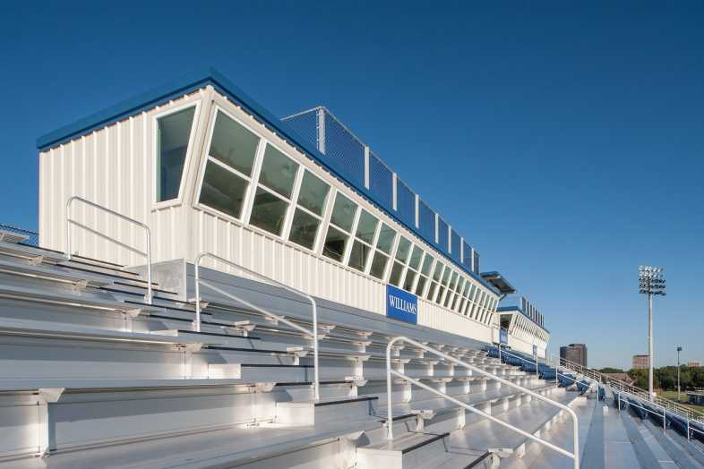 Houston Baptist University Football Bleachers - 7