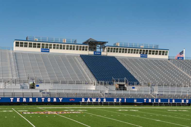 Houston Baptist University Football Bleachers - 13