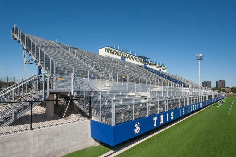 Houston Baptist University Football Bleachers - 16