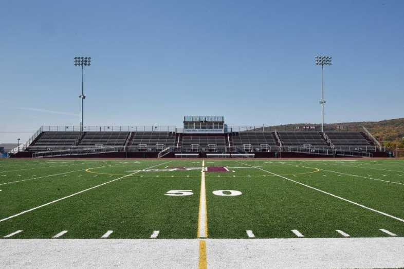 Lehighton Area School District - Football Field - Built by Southern Bleacher - 1