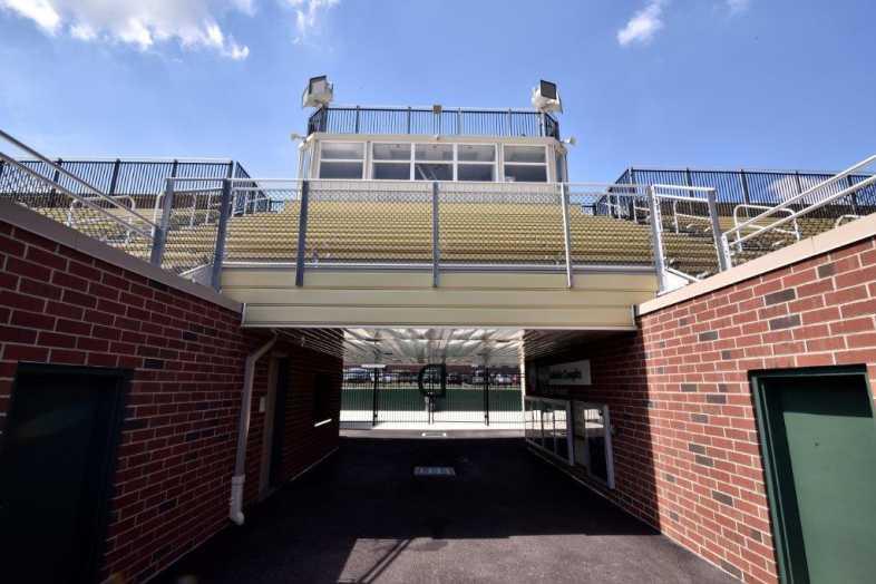 Donegal School District - Football Bleachers - Built by Southern Bleacher - 5
