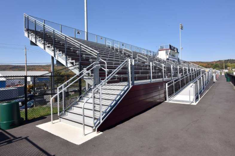 Lehighton Area School District - Football Field - Built by Southern Bleacher - 4