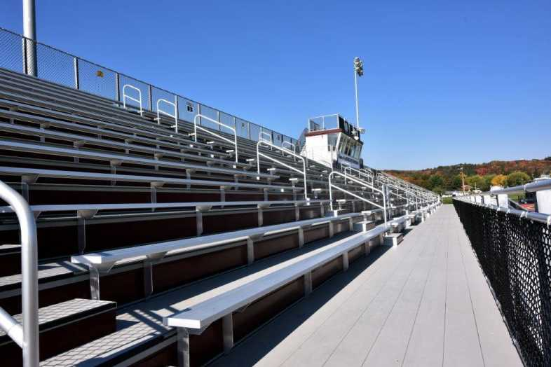 Lehighton Area School District - Football Field - Built by Southern Bleacher - 5