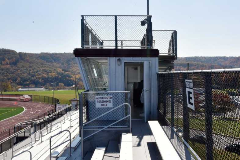 Lehighton Area School District - Football Field - Built by Southern Bleacher - 7