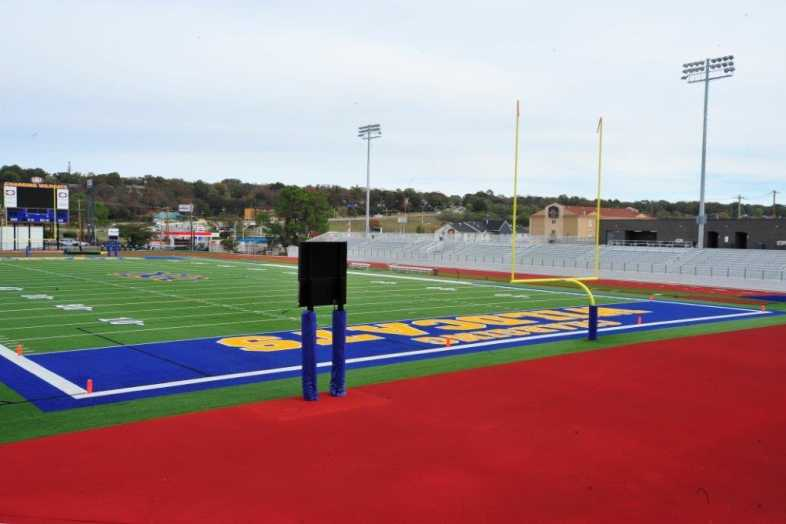 North Little Rock School District - Football Bleachers - 2