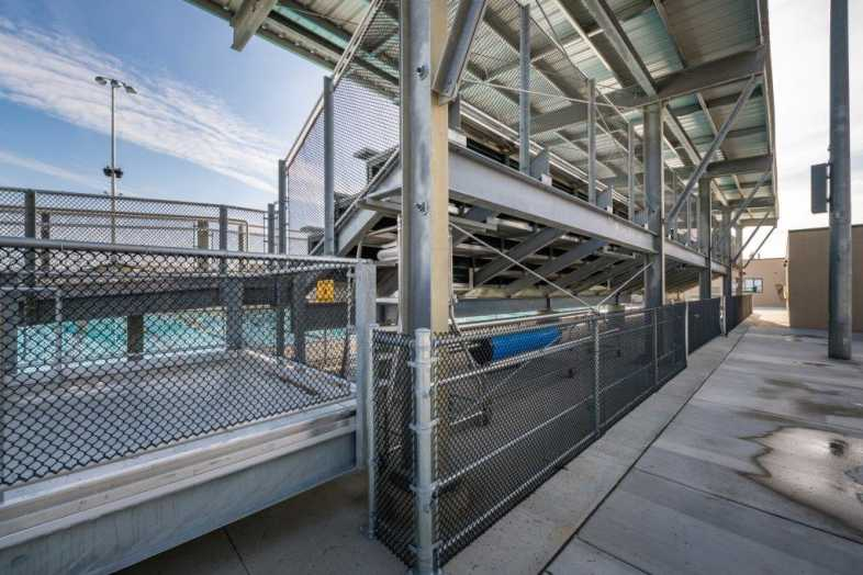 FRESNO UNIFIED SCHOOL DISTRICT - Hoover Aquatic Center - 4