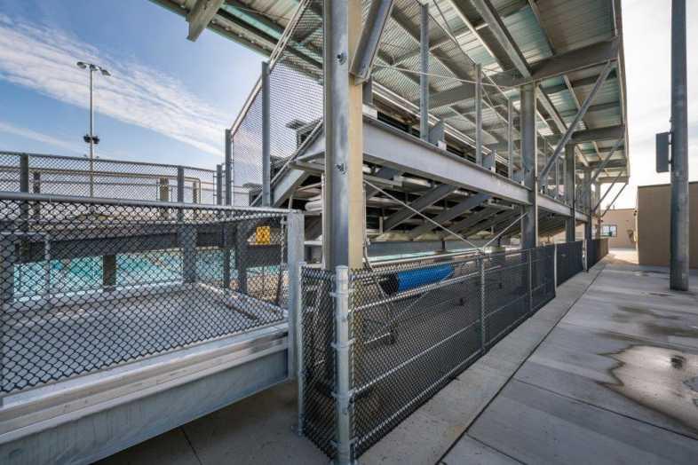 FRESNO UNIFIED SCHOOL DISTRICT - Hoover Aquatic Center - 4