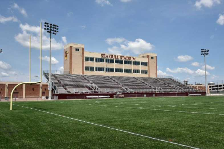 Salisbury University - Football Stadium - Southern Bleacher - 1