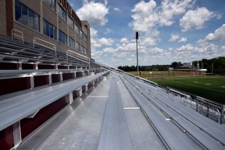 Salisbury University - Football Stadium - Southern Bleacher - 8