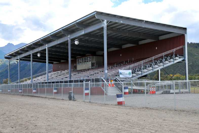 Ouray County Fairgrounds Bleachers - 1