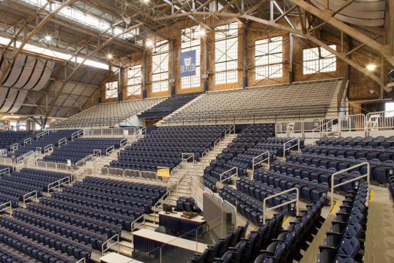 Basketball Bleachers - Butler University - 3