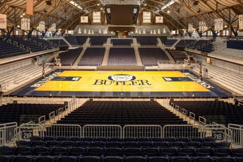 Basketball Bleachers - Butler University - 1